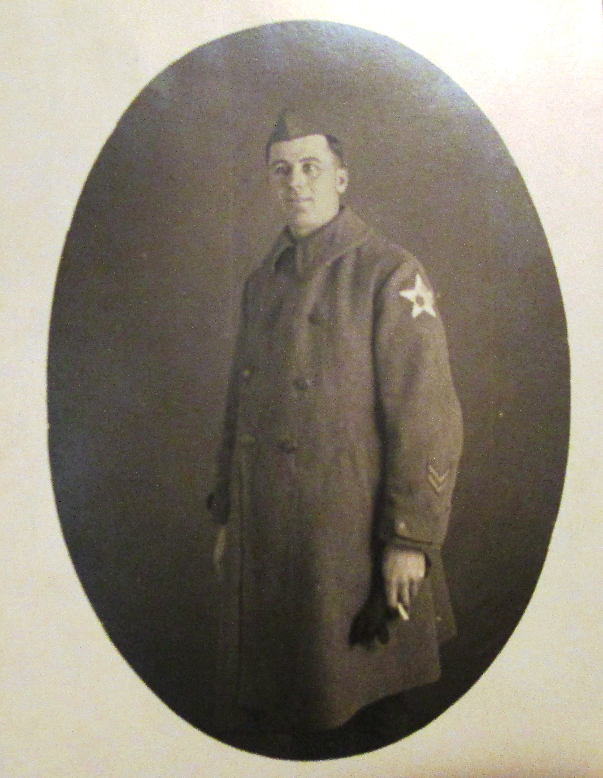 Edward Griffiths, rank unknown, 2d Infantry Division, AEF